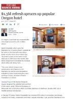 $1.3M Refresh spruces up popular Oregon hotel