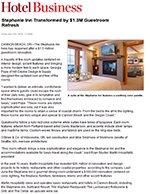 Stephanie Inn Transformed by $1.3M Guestroom Refresh