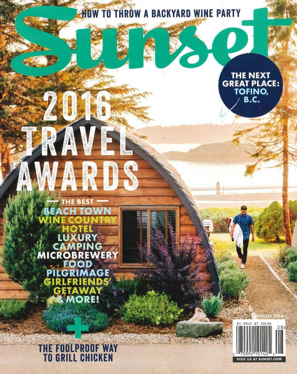 Sunset 2016 Travel Awards