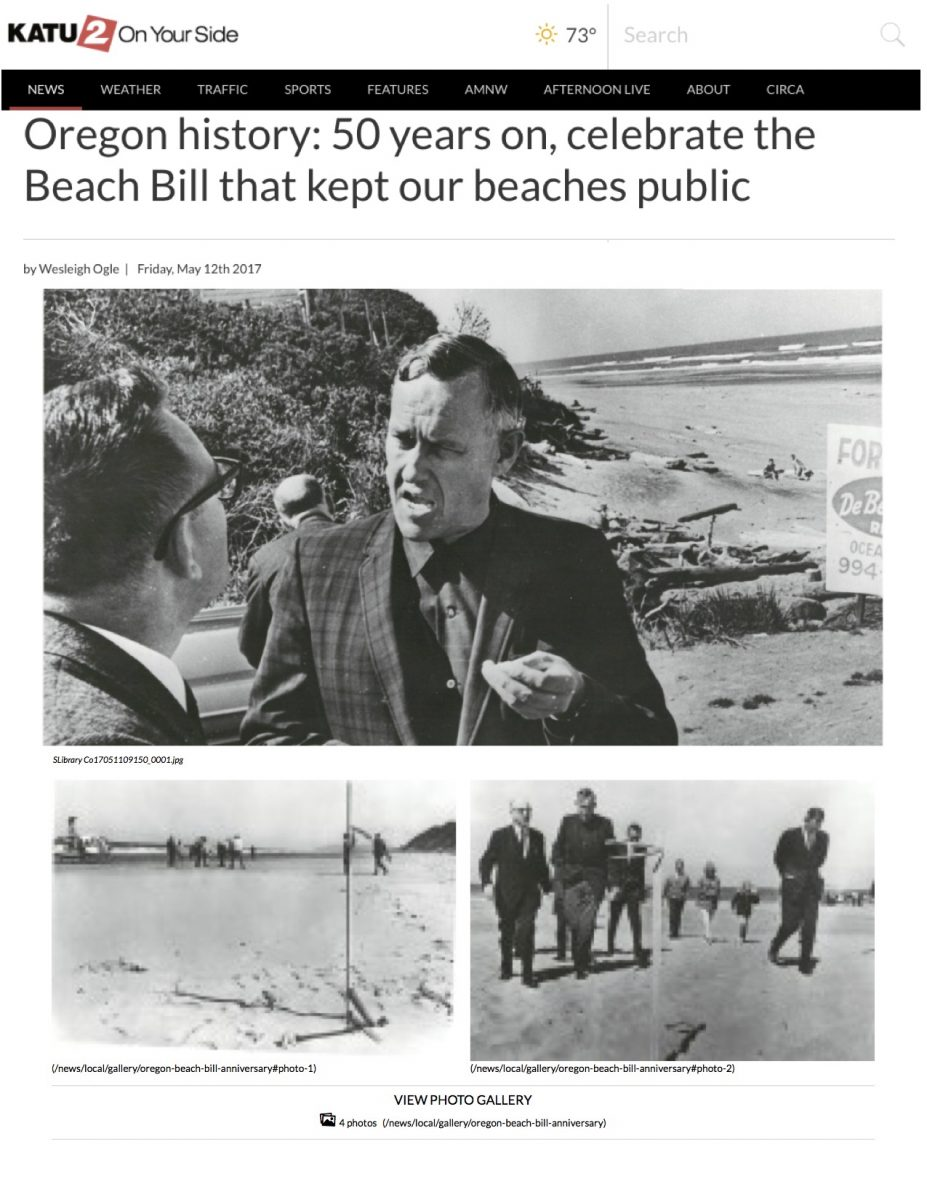 Oregon history: 50 years on, celebrate the Beach Bill that kept our beaches public