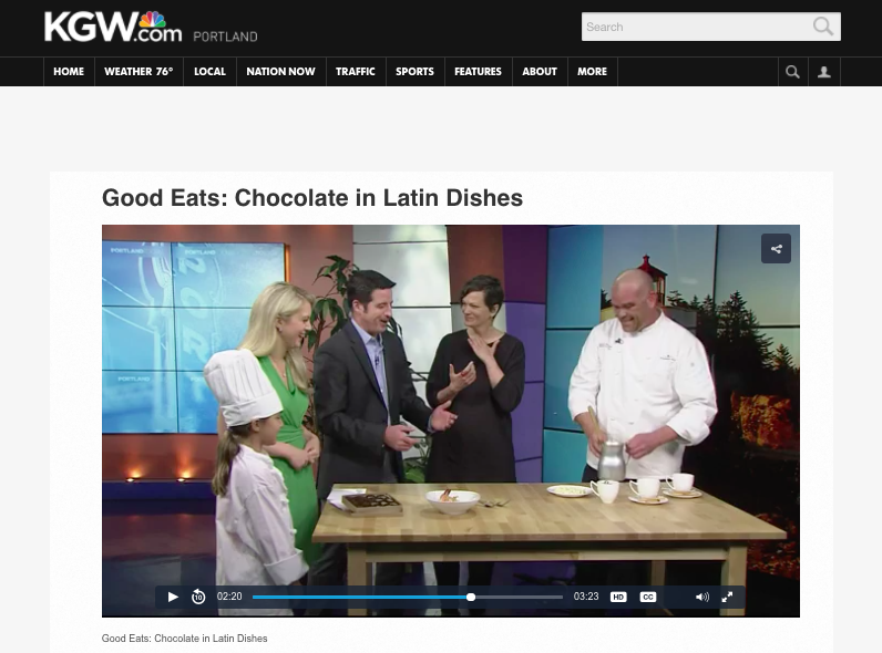 Good Eats: Chocolate in Latin Dishes