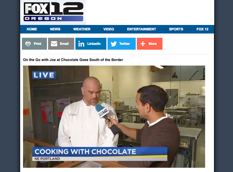 On the Go with Joe at Chocolate Goes South-of-the-Border