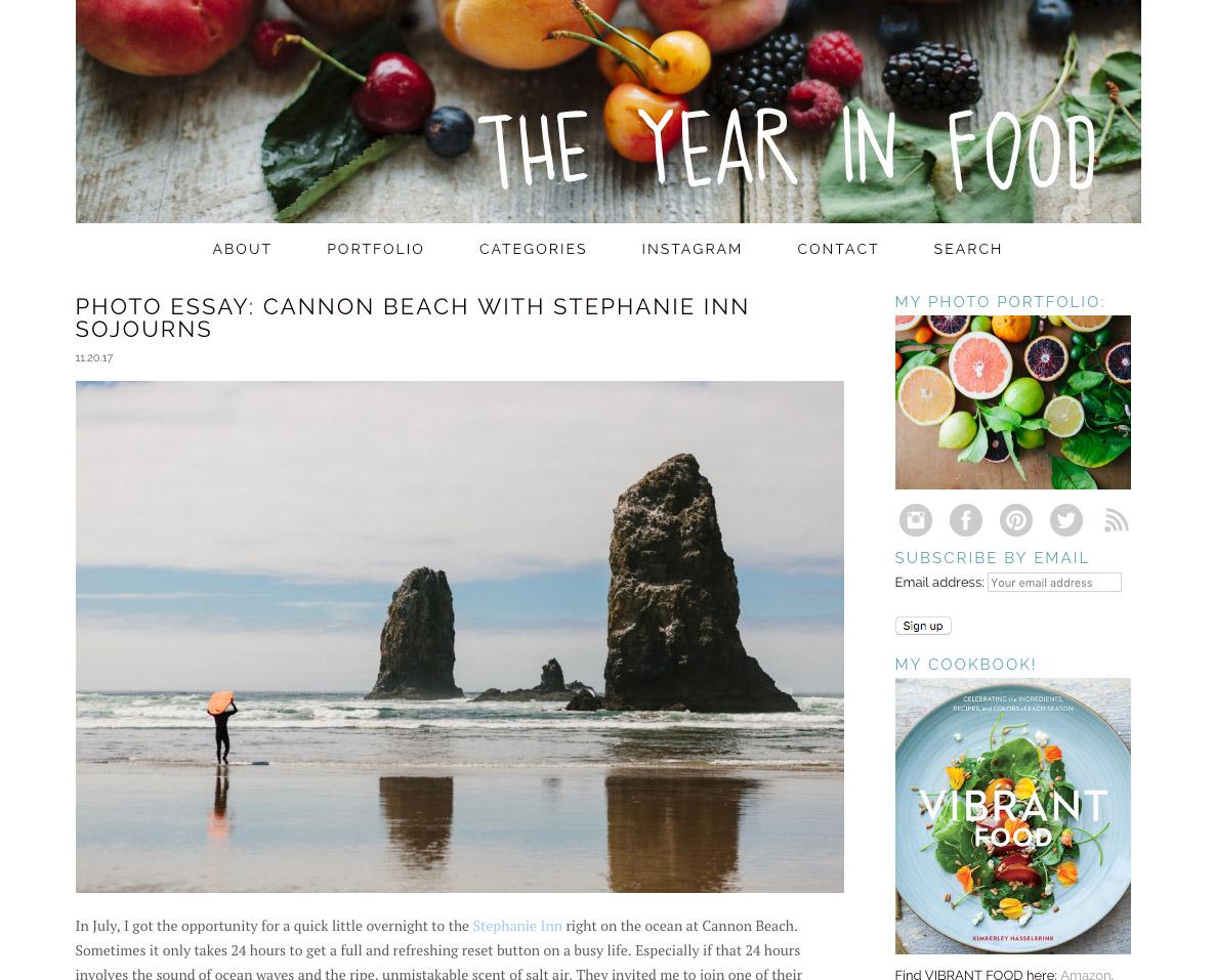 Photo Essay: Cannon Beach with Stephanie Inn Sojourns